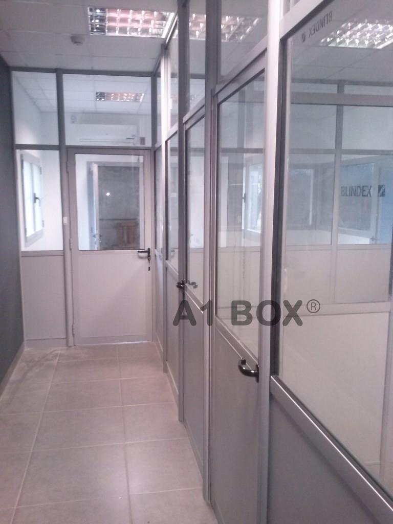 Tabiques de oficinas a1 box cabinas y boxs for Oficinas cam